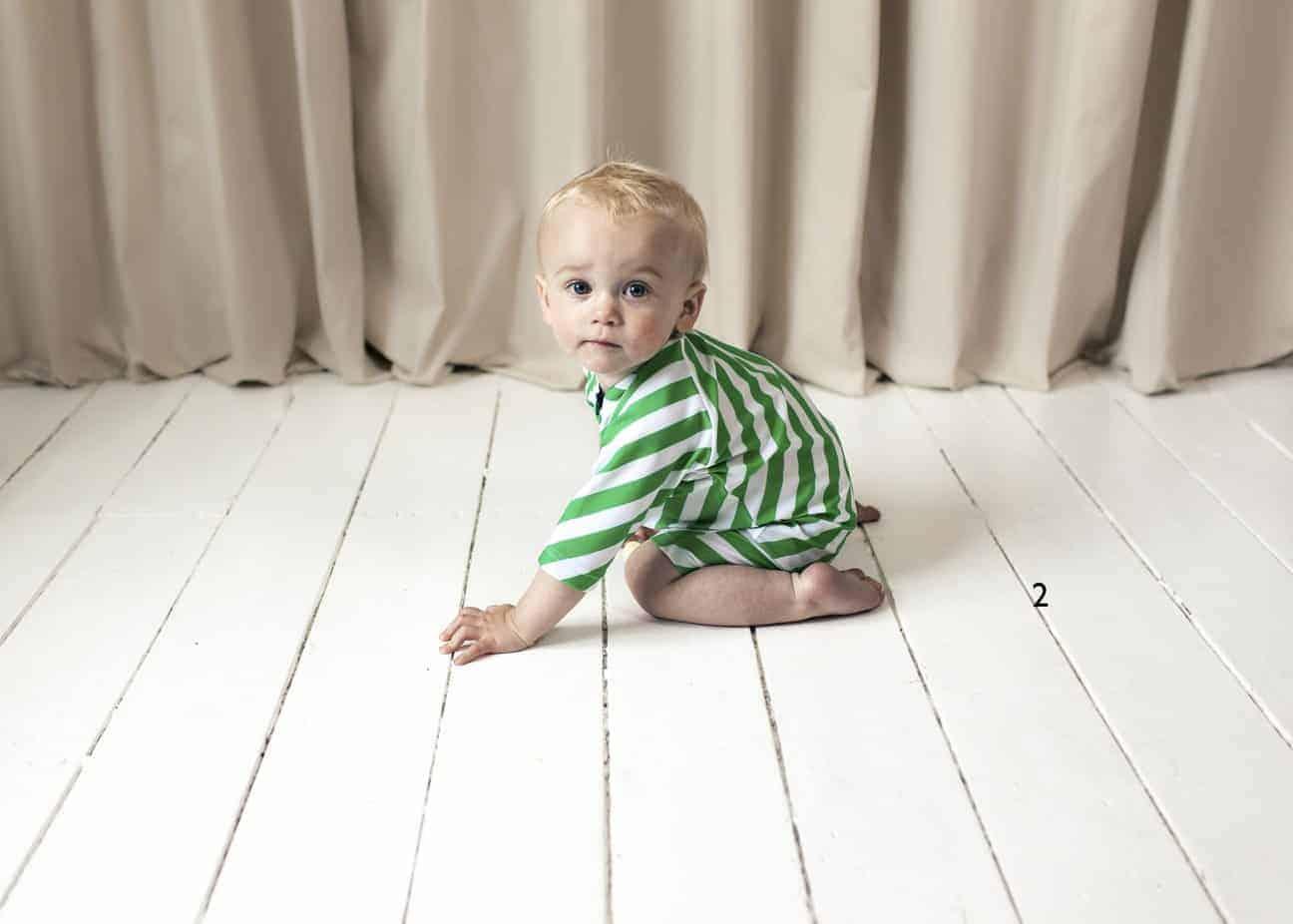 b047df6b9860 Baby Swim Romper - Diagonal Stripes - fistukidz.com